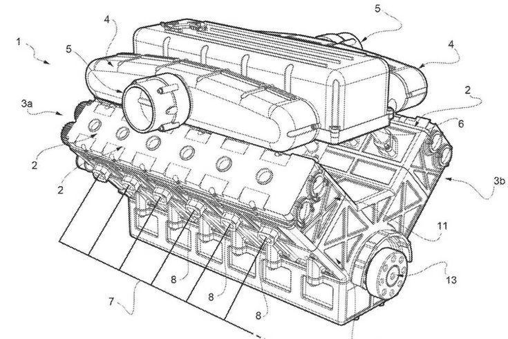 Ferrari is preparing a new atmospheric V12 with interesting technology