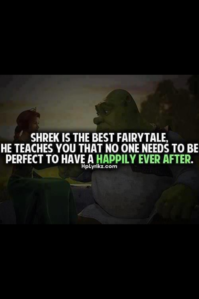 that is why shrek is awesome