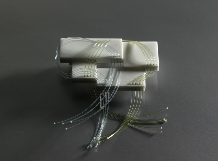Fanni v kony river brooch corian string diy jewelry for Corian competitors