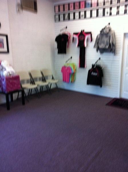 Dance Studio Change Room Idea