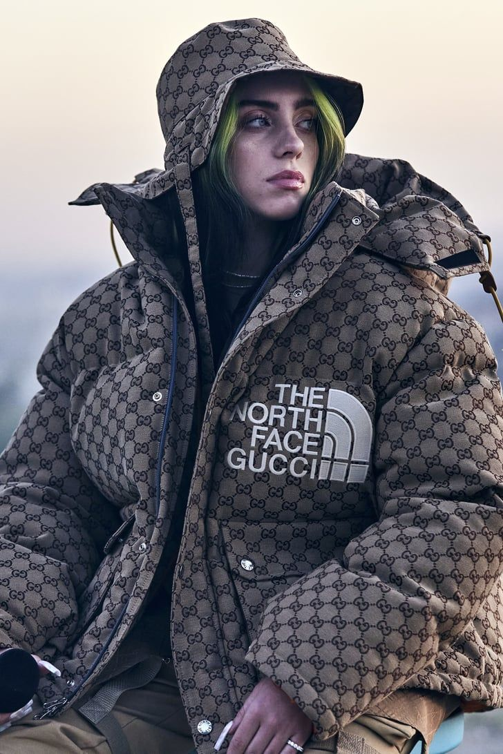 Billie Eilish Exuded Flyness At Her Film Premiere In The North Face X Gucci Puffer Jacket In 2021 North Face Puffer Jacket Billie Billie Eilish [ 1092 x 728 Pixel ]