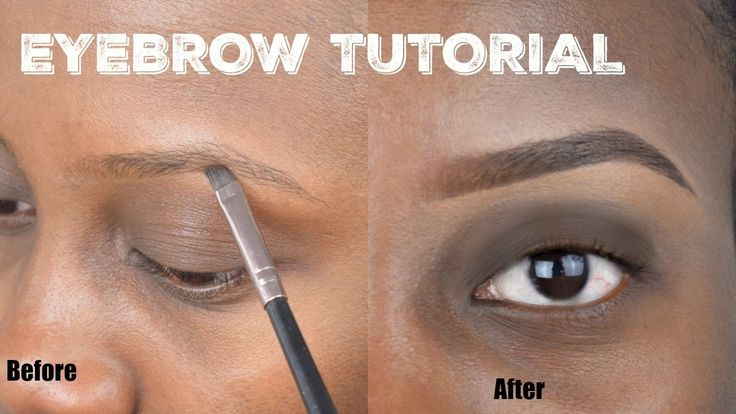 Easy Natural EYEBROW TUTORIAL | Step by Step for Beginners ...