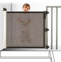 Barrera de seguridad infantil enrollableBarrera de seguridad ligera y que se oculta. Evita que los niños se acerquen a zonas peligrosas o caigan desde gran...