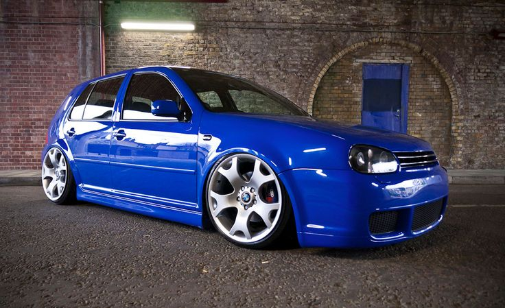 Golf 4 Rims >> VW's Jazz Blue - so lovely on the MK4 (helped here by great rims and stance) | Adrenaline ...