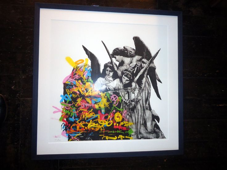 Framed Angels by DOLK is a Signed Limited Edition Print. Framed in our own picture framing workshop, conservation framing as standard.