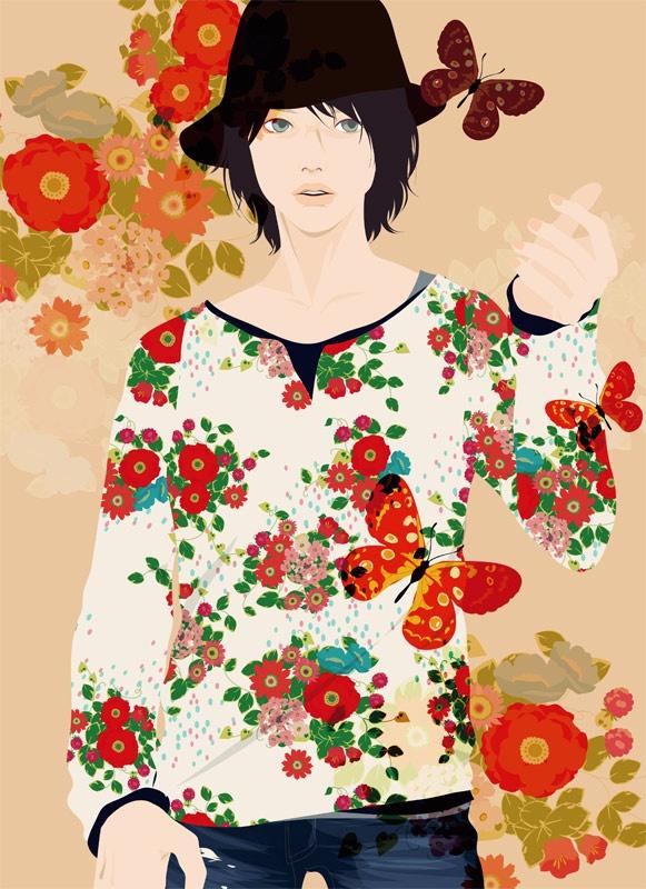 Flower Man 1 by Katogi Mari