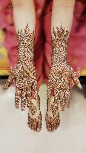 Bridal Mehndi~ Courtesy Heena and Shehnaaz