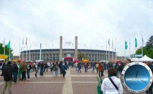 Olympiastadion Berlin  Uhrzeit Berlin und weitere Infos, Bilder und Videos auf uhrzeiten.biz