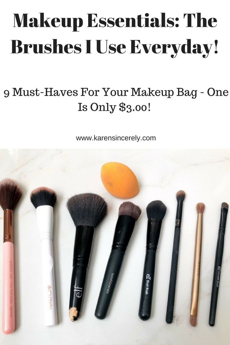 Makeup Brush Must Haves Which One Is Only 3 Beauty How To Wash Makeup Brushes Makeup Cheap Makeup Brushes