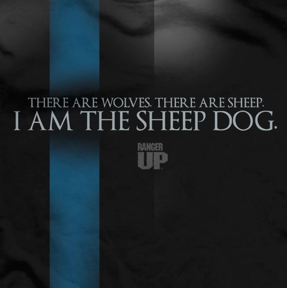I am a Sheep Dog, here to protect you from the Wolves!