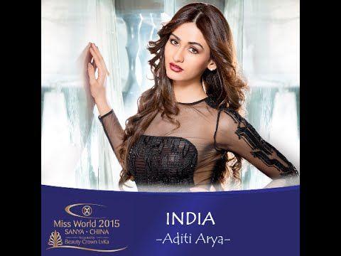 Miss World India 2015 - Aditi Arya