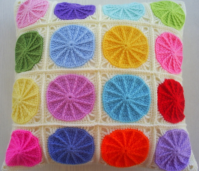 Polka dot squares.  Try quilting this pattern instead??