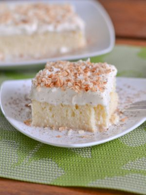 Tres Leches Cake - Cake soaked in 3 types of milk