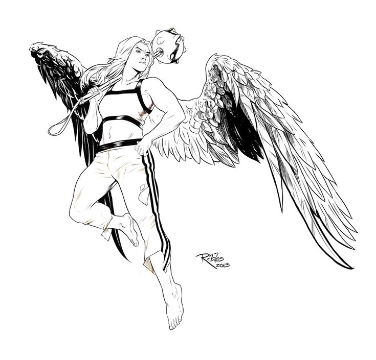 coloring pages of hawkgirl - photo#28