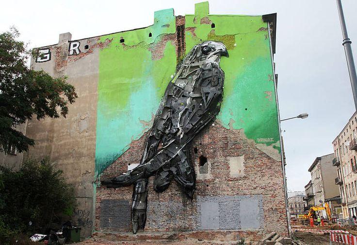 Dwa z najlepszych na świecie murali września powstały w Łodzi - Dzienniklodzki.pl