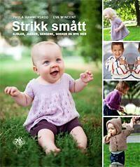 http://www.adlibris.com/no/product.aspx?isbn=8272015188 | Tittel: Strikk smått; kjoler, jakker, gensere, sokker og mye mer - Forfatter: Paula Hammerskog, Eva Wincent - ISBN: 8272015188 - Vår pris: 149,-