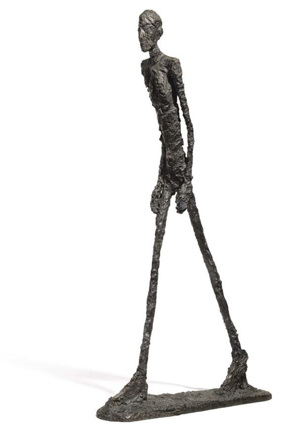 Walking Man I, 1960. Alberto Giacometti.