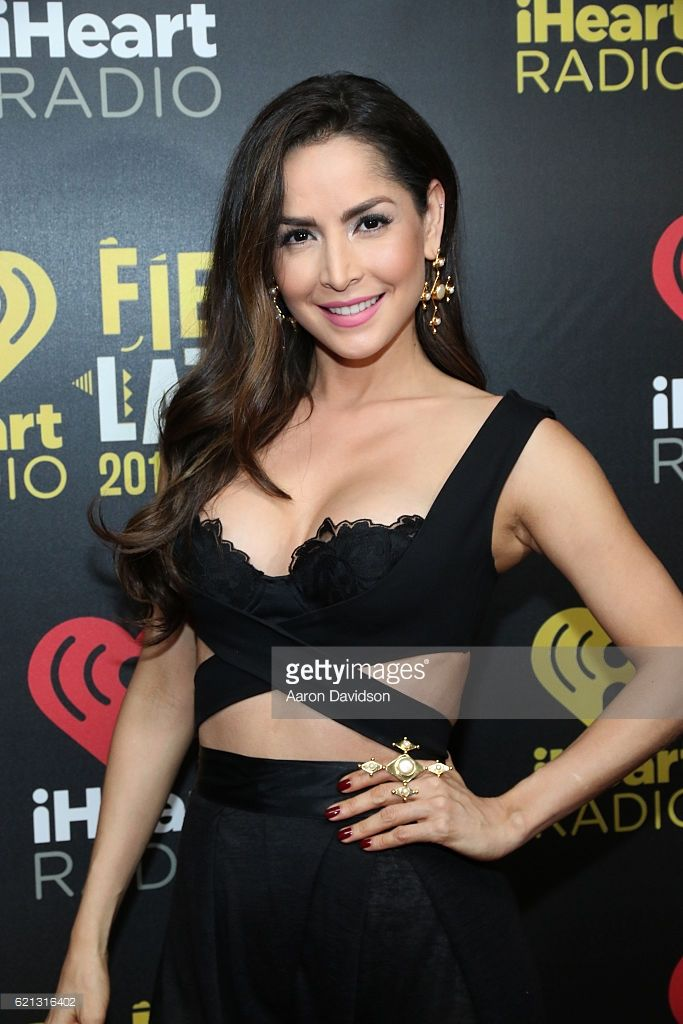 Carmen Villalobos attends iHeartRadio Fiesta Latina at American Airlines Arena on November 5, 2016 in Miami, Florida.