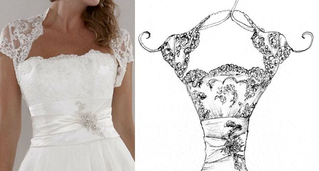 Ellie Dress – Pen | Pretty as a Picture#wedding #weddingdress #weddingdressportrait #weddingdressdrawing #drawmyweddingdress