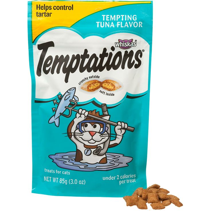 Using Temptations As Cat Food