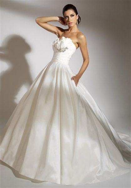 Rochie de mireasa alba, eleganta.