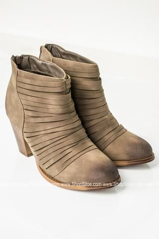 675f3e85b21e9 Burnt Distressed Strappy Booties - Siloe | Shoes | Shoes, Bling ...