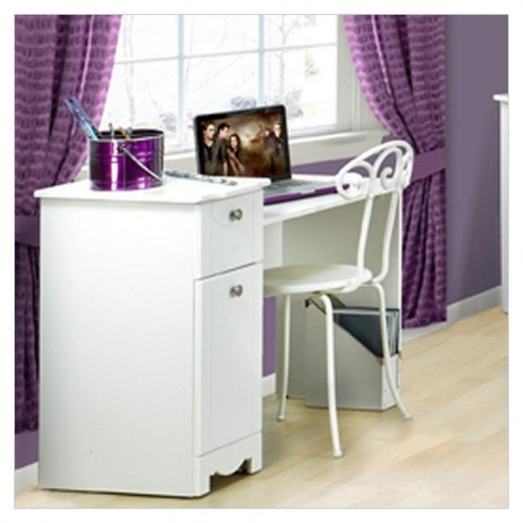 furniture exquisite white desks for teenagers combined with white finish as well as twisted iron chair also cool teenagers desk design completed with
