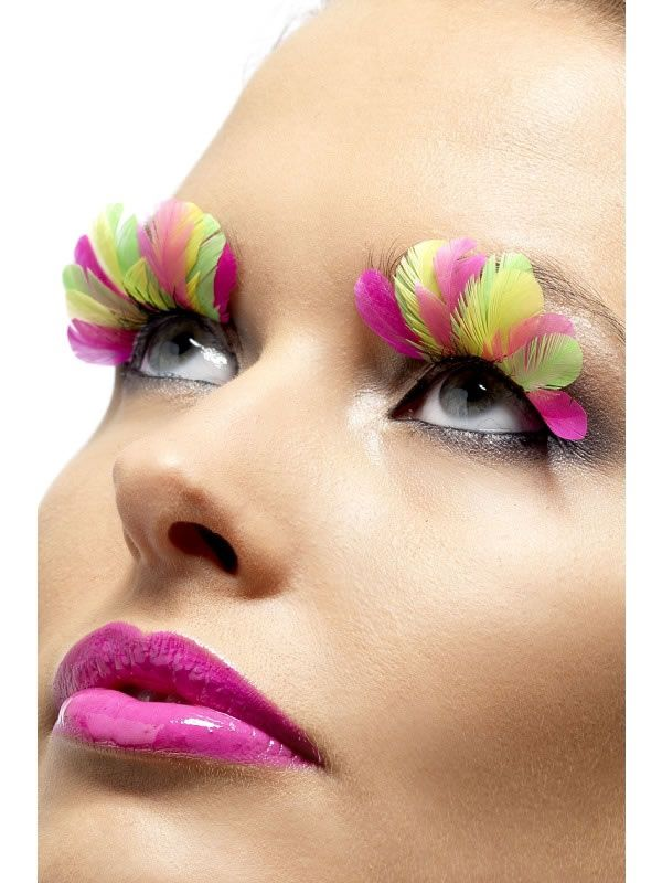 OLL 166 - Multicoloured Feathered Lash