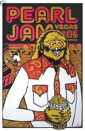 """June 6, 2003 in Las Vegas. PJ played the MGM Grand Garden Arena in support of """"Riot Act."""""""