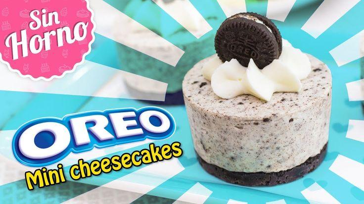 MINI CHEESECAKES DE OREO SIN HORNO | Quiero Cupcakes!