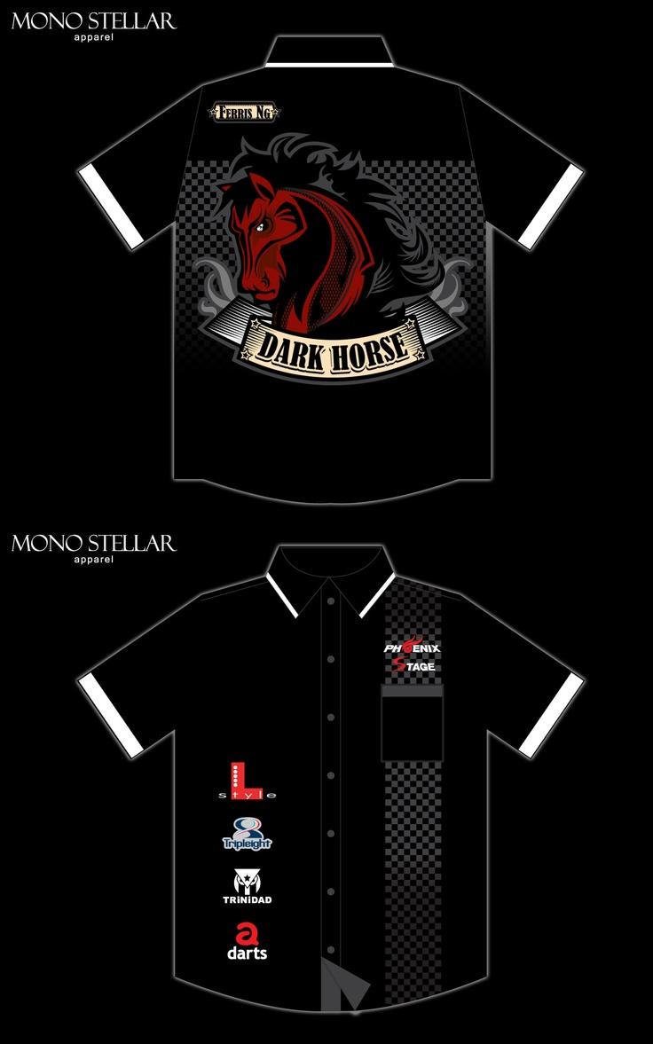 Dart shirt design your own - Darts Shirt Dartshorse Team
