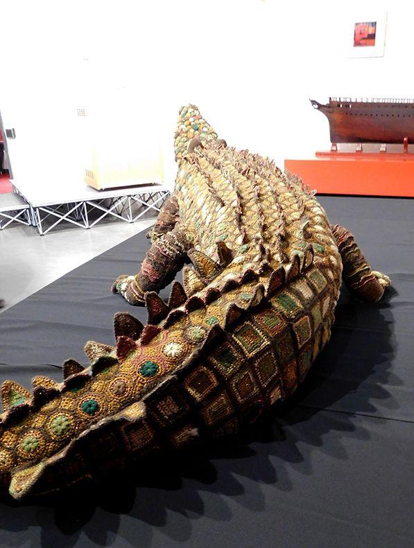 Crochet Crocodile by Vicky Harrison, Bristol, UK