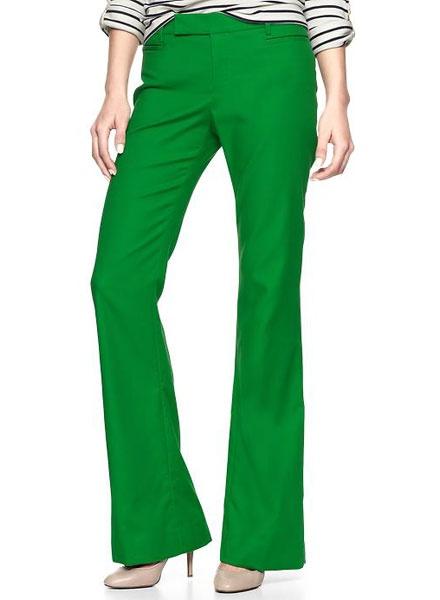 Gap trousers, $70, gapcanada.ca.