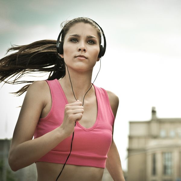 Pump-Up Playlist: Run 5 Miles in 50 Minutes---songs for a 10/min-mile pace.