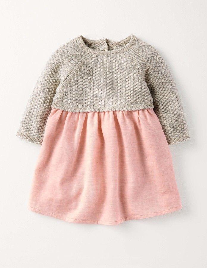 Pretty Knitted Dress | Mini Boden