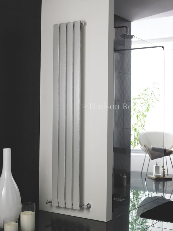 The Hudson Reed Zenith Designer Radiator is a sleek and modern way to heat your bathroom.