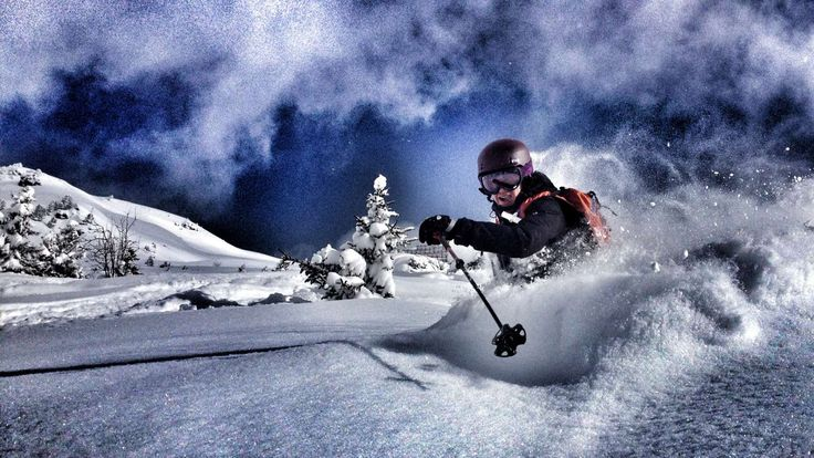 Fresh Powder in Bâ Combe, Verbier. Epic Europe - Guided OffPiste Skiing #powder#ski#pure#sport#snow