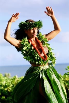 How to Make a Hula Girl Costume for Kids