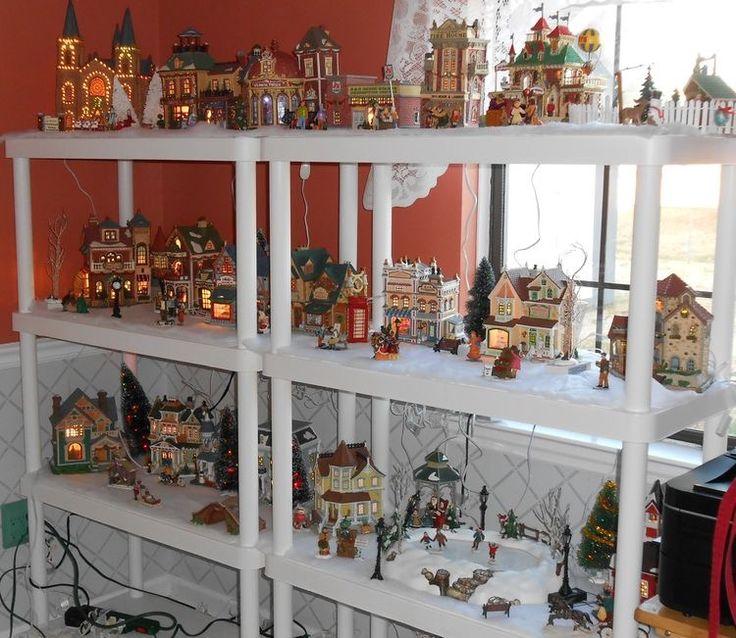 Christmas Village Decorations Ideas: 75 Best Christmas Village Ideas Images On Pinterest