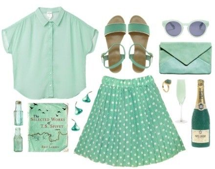 Mint Green Outfits / Dress for summer