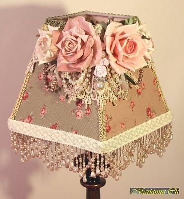 Gorgeous shabby lampshade