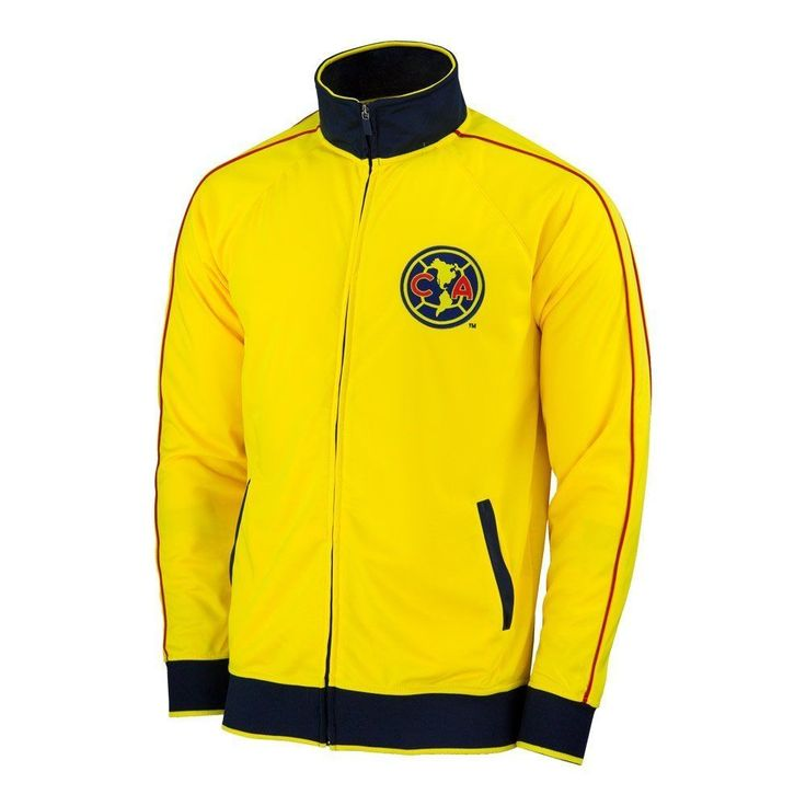 Club America Jacket Track Soccer Adult Sizes  Football Official Merchandise FMF #Rhinox #Amrica