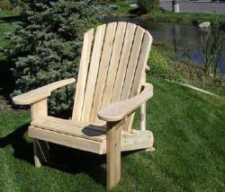 Adirondack Chair 8002 from the Cedar Chair Store