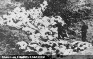 """Murder -> Babi Yar (09/29/1941) is a ravine in the outskirts of Kiev, the capital of Ukraine. In the course of two days, September 29-30, 1941, German Nazis aided by their collaborators murdered 33,771 Jewish civilians. The Babi Yar massacre is considered to be """"the largest single massacre in the history of the Holocaust.""""  Video: Download """"babi_yar.wmv"""""""