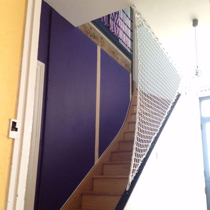 Garde-corps en filet pour escaliers                                                                                                                                                                                 Plus