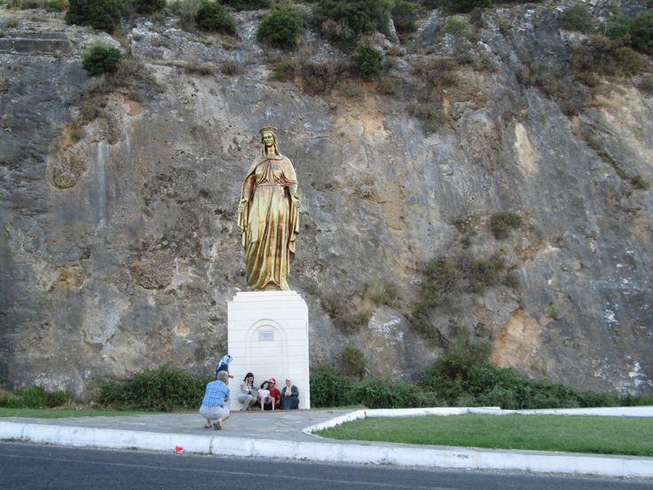 Wonderful Ephesus- Virgin Mary Statue