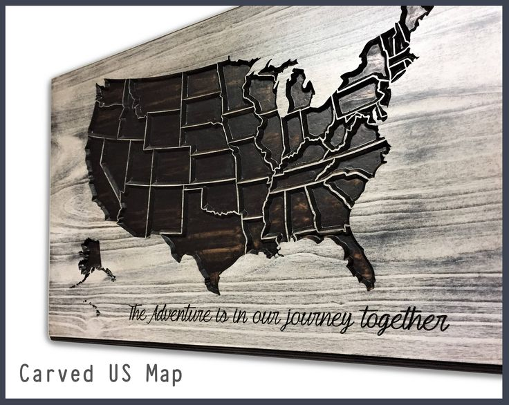 Wooden US Map, Home Wall Decor, Travel Decor, Wood Wall Art, Map of United States, Vintage Map, Anniversary Gift, Wedding, Adventure by HowdyOwl on Etsy
