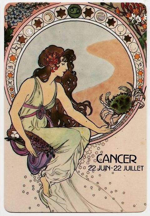 Cancer, the cardinal sign of summer