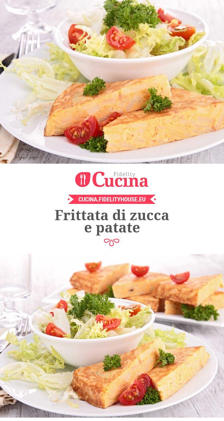 #Frittata di #zucca e #patate
