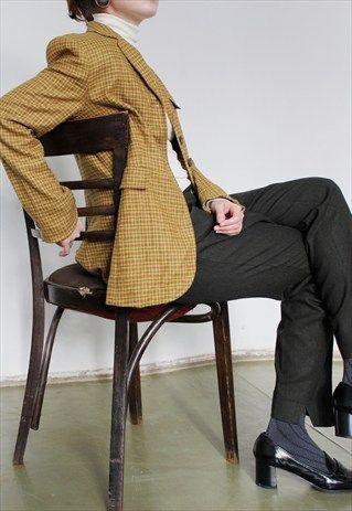Bogner+Wool+Tweed+Jacket